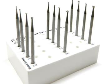 "Panther® Krause Stone Setting 1 3//4/"" Shank Jewelry Bur Set Sizes 1 MM 6 pcs"
