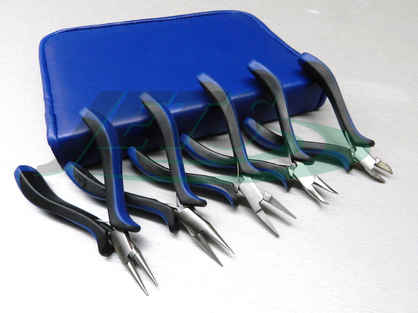 Ensemble de pinces bijoux de 5 Kit Kit Kit pour Wire Wrapping travail de perlage de fabrication de bijoux de l'artisanat (1,4 FRE) 8c043a