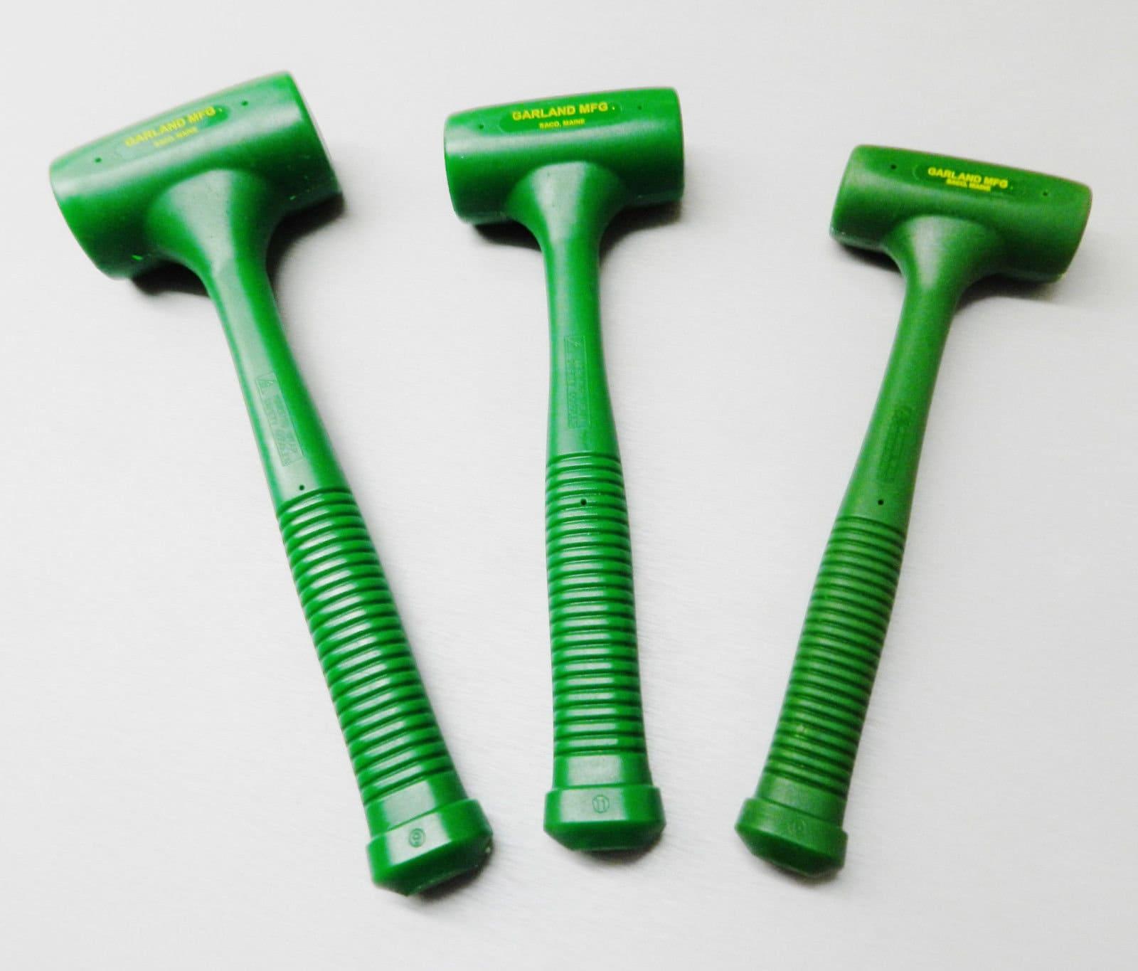 Coup mort marteaux marteaux marteaux guirlande tête Standard Set de 3 polyuréthane Mallet (4,3 Lb BRA) 7e3bb5