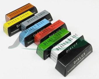 Dialux Polishing Compound 8 Bars Set Every Type Of Jewelers Rouge Polish Tripoli (2.6 FRE)