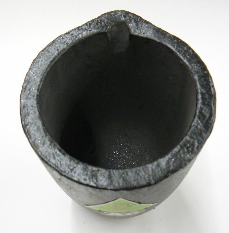 Salamander A6 Super Clay Graphite MORGAN Melting Crucible for Brass Gold Silver 4.12 M Box