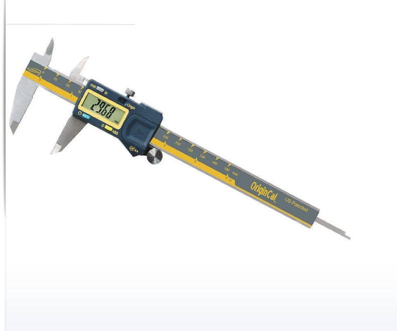 iGaging Origin Cal Absolute Origin Electronic Caliper 6-150mm DIGITAL IP54 S.S. 11E  FRE