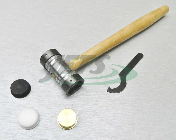 Texturing Pattern Hammer Interchangeable 7 Faces Jewelry Making Metal Forming