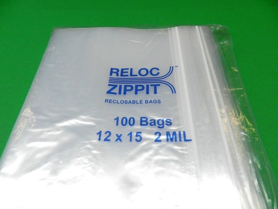 """1000 Ziplock Bags 1 1//2/"""" x 1 1//2 /"""" Clear Plastic Resealable Reclosable 2 mil USA"""