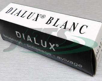 White Polishing Compound Dialux Silver Polish Jewelry White Gold Platinum Silver (4E)