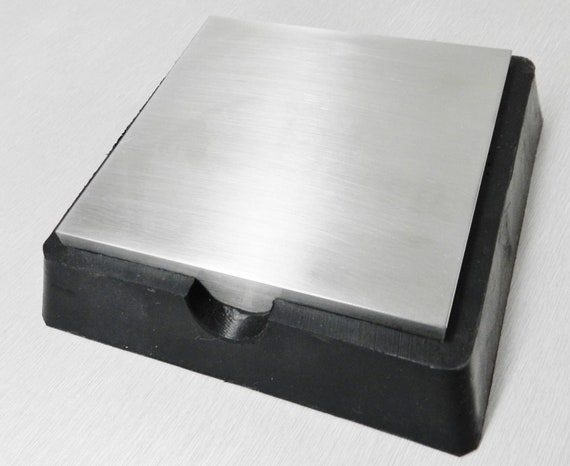 2-1//2 Inch x 2-1//2 Inch MH GLOBAL 4 Pieces of Anvil Base Bench Block Jewelers Metal Steel Tools