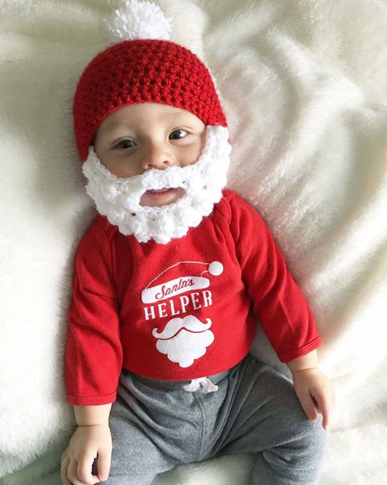 719e5fe4156 Crochet Santa Beard Hat