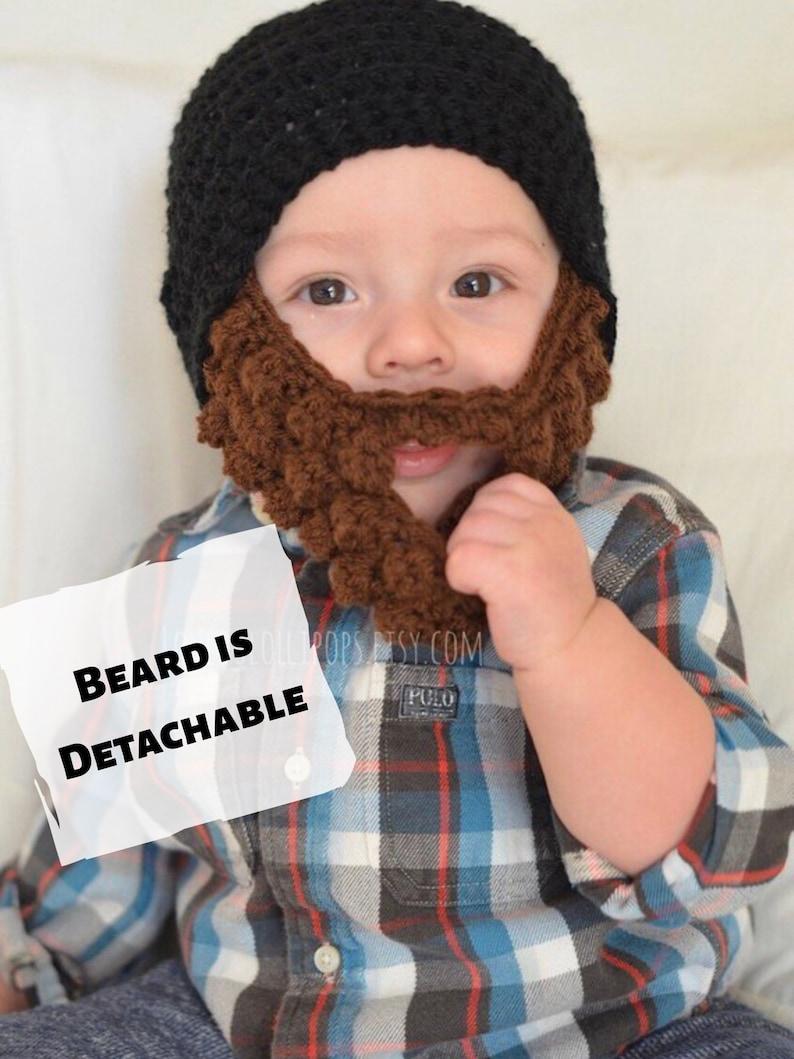 65c209d3c42 Crochet Lumberjack Beard Hat