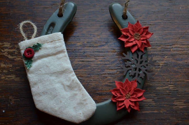4020061f76acc Christmas Stocking Horseshoe