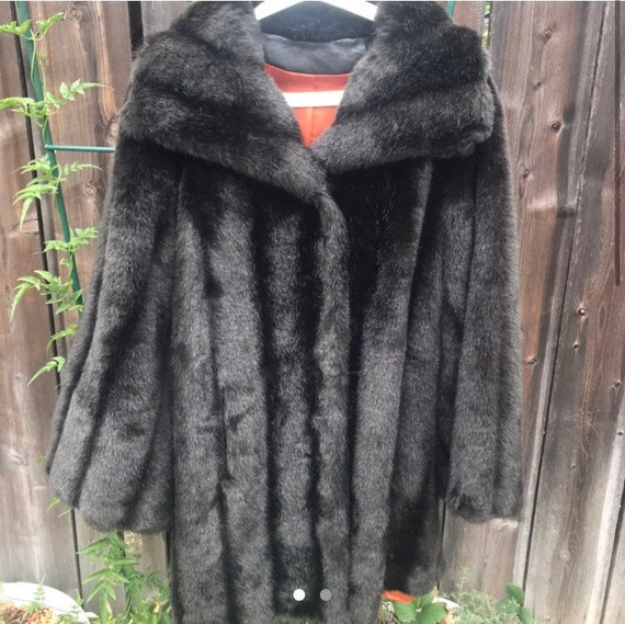70s Faux Fur Coat