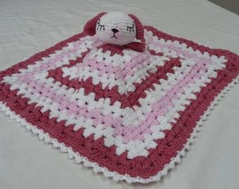 Baby Security Blanket, 100% Cotton Security Blanket, Handmade Security Blanket, Baby Blanket, Cotton Security Blanket