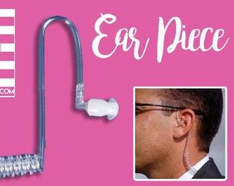 Ear Piece - Ring Security Special Agent Secret Agent James Bond 007 Secret Service