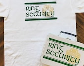 Irish Ring Security Set - T-Shirt, Box with Ring Pillow, Sunglasses & Coloring Book with Crayons - Wedding Ring Bearer Alternative / Gift