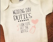 Wedding Day Baby Onesie -...