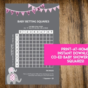 Baby birth betting squares trading binary options with candlesticks sleepwear