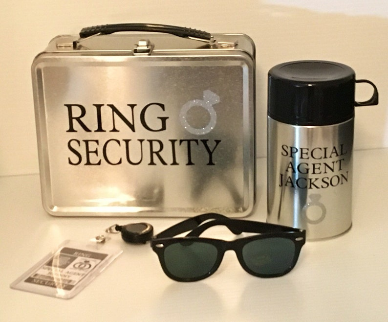 Deluxe Ring Security Set  Box Thermos Sunglasses & Coloring image 0
