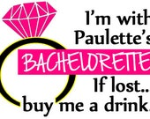 Last Fling Before The Ring - Bachelorette Party Temporary Tattoo