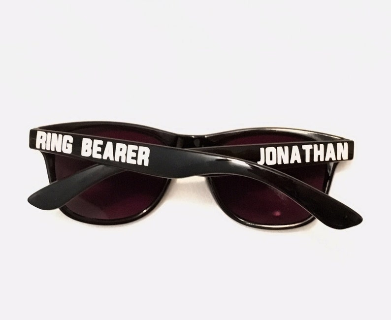 Special Agent Sunglasses  Ring Security Ring Bearer Jr. image 1