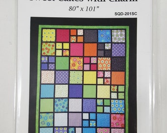 Quilt Pattern - Sweet Cakes with Charm