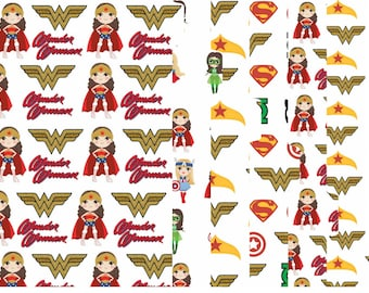 Wonder Woman Set of 6 Tabbed Dividers
