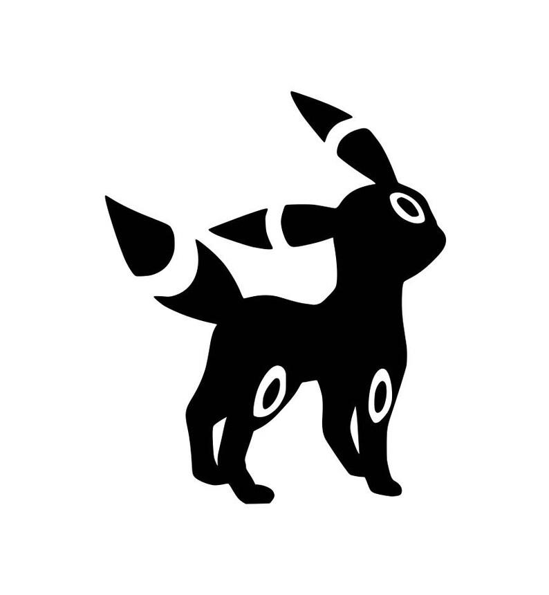 Bambini Pokemon Umbreon Camicia Nera