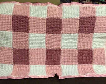 Crib or Carriage Blanket