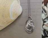 Oyster Seed  Necklace - Solid Cast Shell