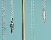 Auger Shell Necklace - Ca...