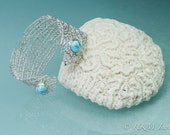 Silver and Larimar Sea Fa...