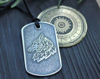 Military badge  Wolf