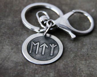 Locket for the key with runes.