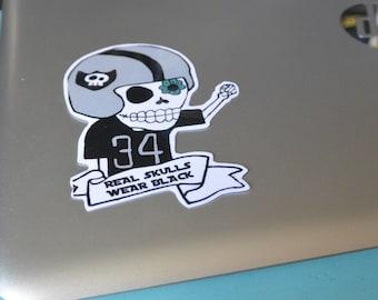 Raider Guy Sticker