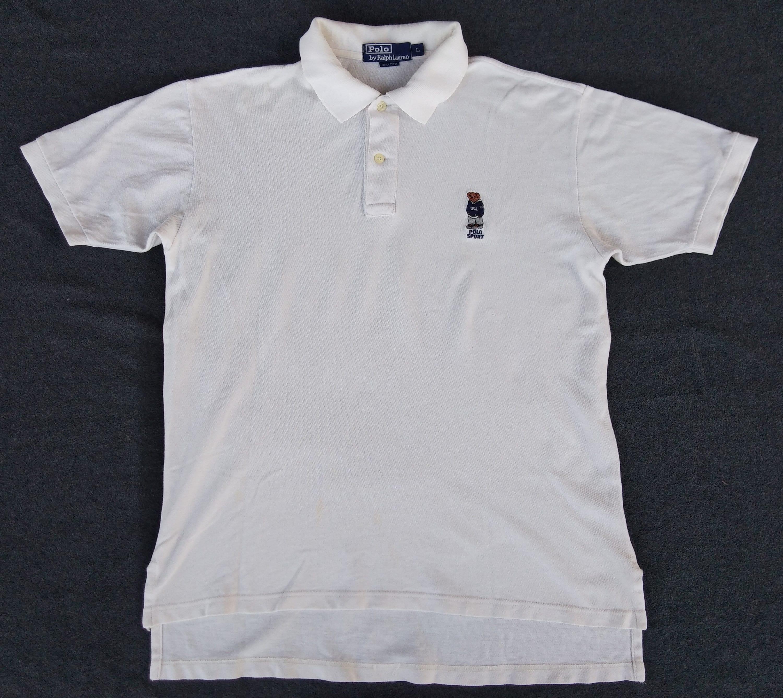 Vtg Polo Bear By Polo Ralph Lauren Polo Shirt Made In Usa Etsy