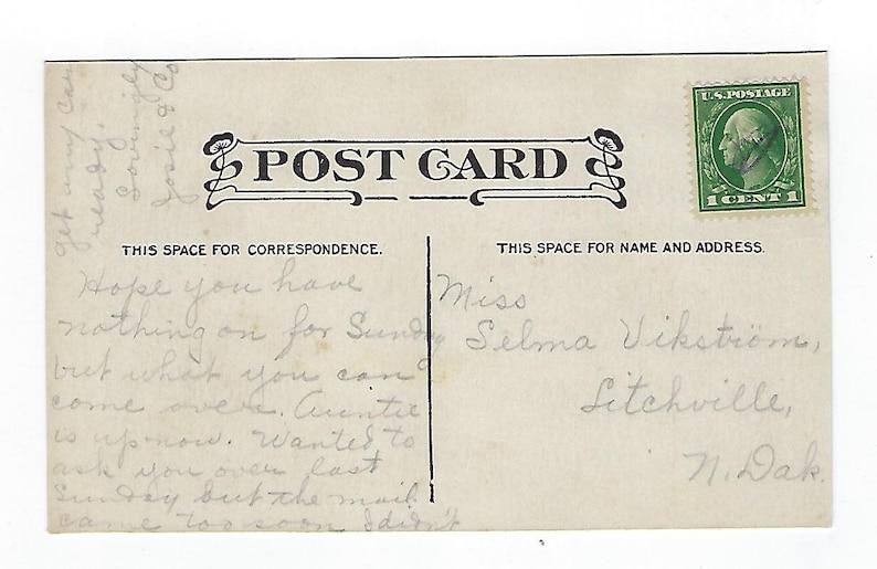 Dietrich The Sermon on the Mount Antique Postcard A Ephemera