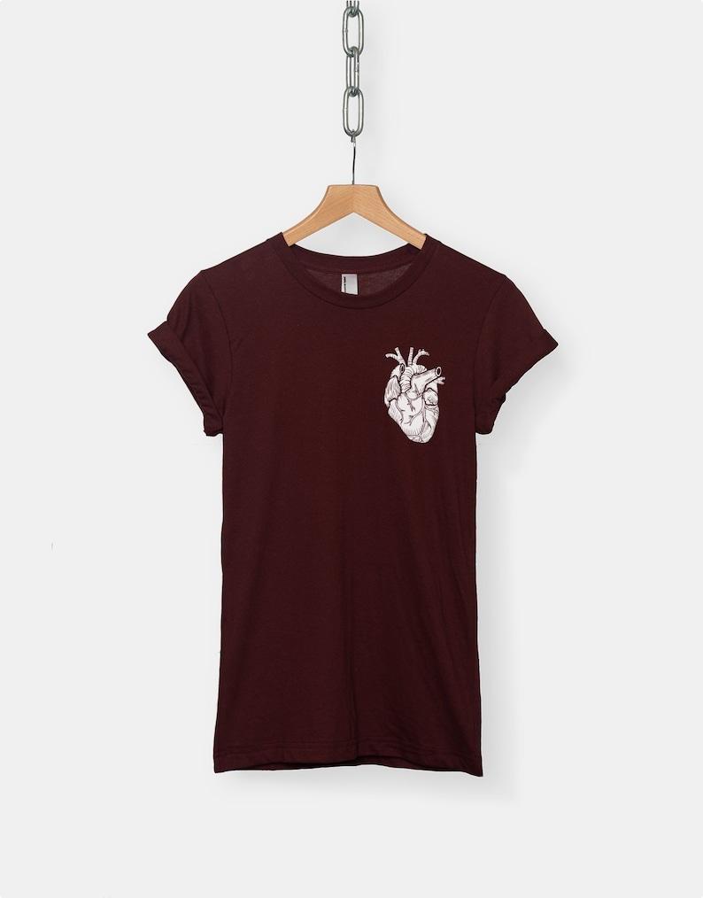 f43cf7bb54 Anatomical Heart t-shirt tee    fashion t-shirt   men s