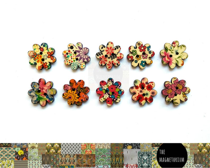 Refrigerator Magnet Pretty Flower Magnets Magnet Weekly Planner Fridge Magnet Flower Decor Garden Decor Floral Decor Office Decor
