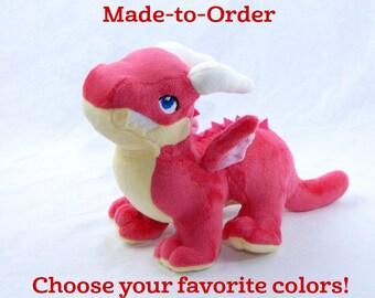 Baby Dragon Plush (Customizable, Made-to-Order)