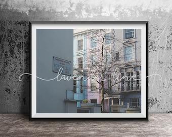 PORTOBELLO ROAD, Colour Photography Print, London, Street Photography, Cityscape, Wanderlust, Home Decor, Wall Art