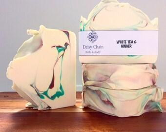 Soap - White Tea & Ginger