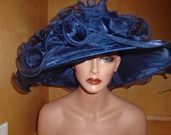 62cc5e9a698e2 Blue church hat
