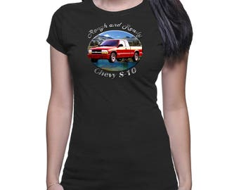 Chevy S-10 Rough And Ready Men`s Dark T-Shirt