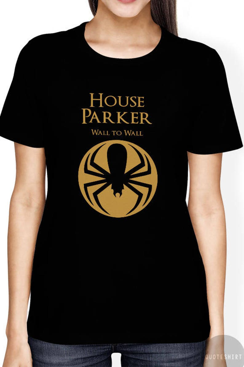 d1c21f29c7 Game of Thrones Shirt Funny Spiderman T Shirt House Peter | Etsy