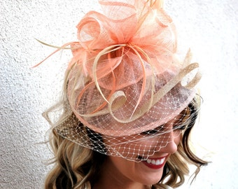 The Brynlee Pink Fascinator 37fc03a2860