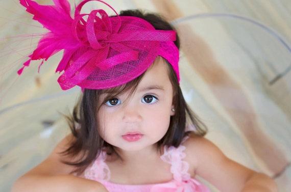 Toddler Fascinator Baby Little Girl s Fascinator Tea  f59742d1358