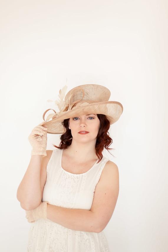 2d7df8afde4 Kentucky Derby Hat Church hat Tea Party Hat Purple Hat