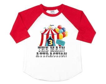 Carnival Themed Birthday Shirt