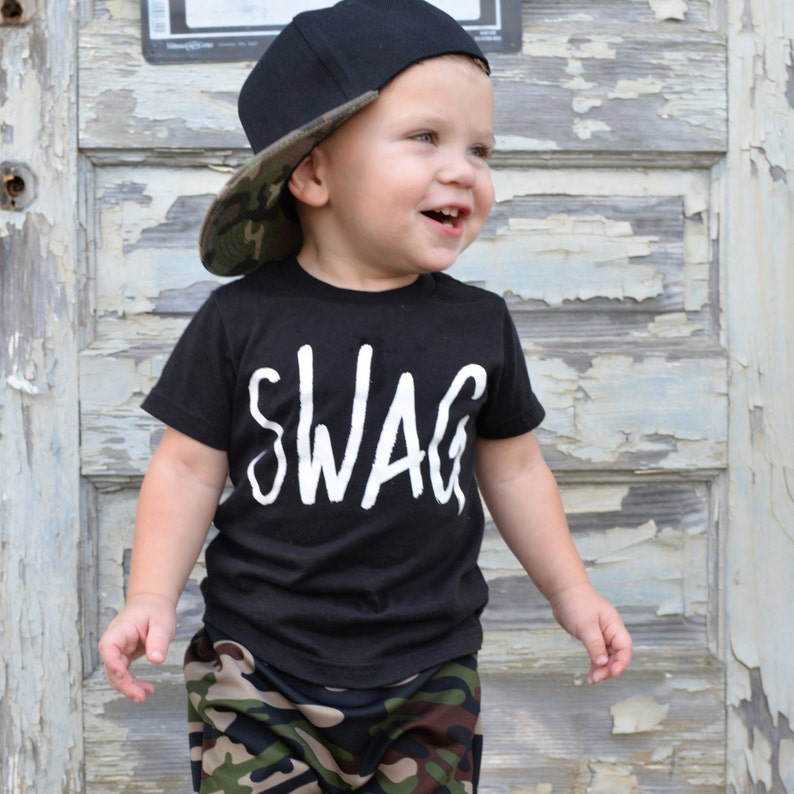 903b942e2 Little boy swag shirt boys swag tee graphic tees for kids | Etsy