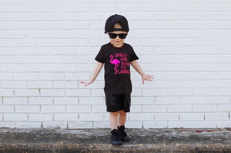 77e02b303 Flamingo shirt trendy boy clothes toddler boy clothes baby | Etsy