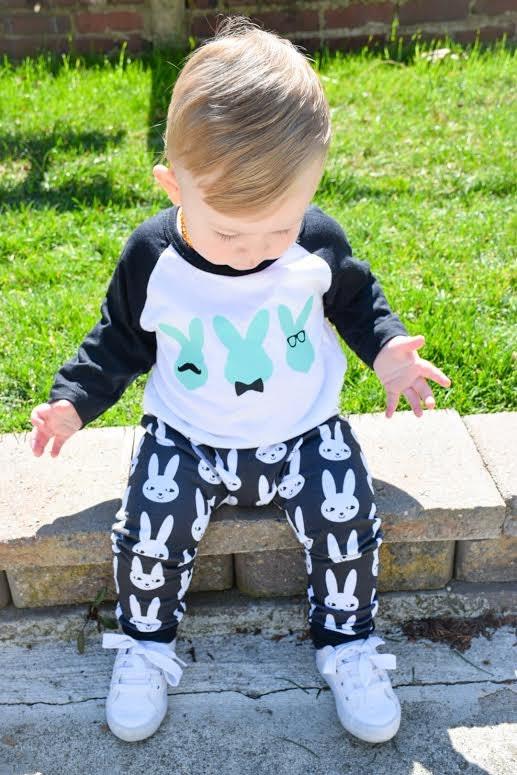 c0059796bfa51 Easter bunny - Easter outfit - Hipster Easter Bunny - Boys Fashion - Baby  Boy Fashion - Raglan - Toddler Boy - Fashion - Easter Shirt - Boys