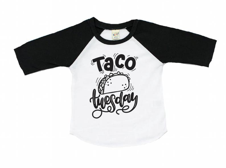 2a39043c6 Taco tuesday shirt taco shirt Taco twosday toddler taco | Etsy
